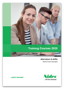 Training Courses 2020 - Alternators & AVRs - Electric Power Generation