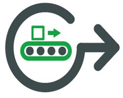 truyền động đa năng để điều khiển tốc độ từ xa chính xác của băng tải