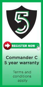 Commander-C-drive-setup-5-year-warranty