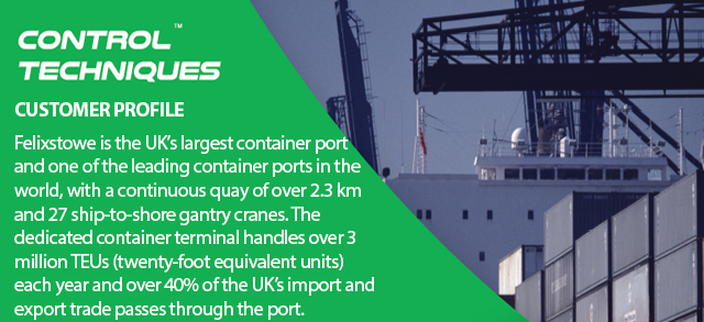 Accelerated return of investment for port with drive controlling system