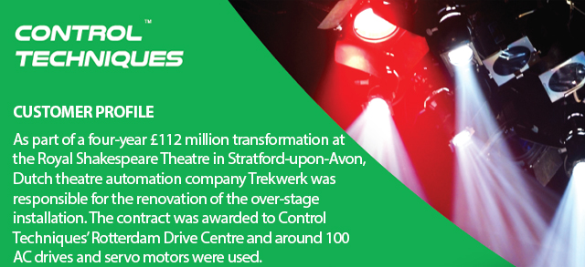 Drives play major role in theatre automation