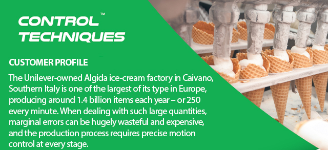 variable speed drives in ice cream application