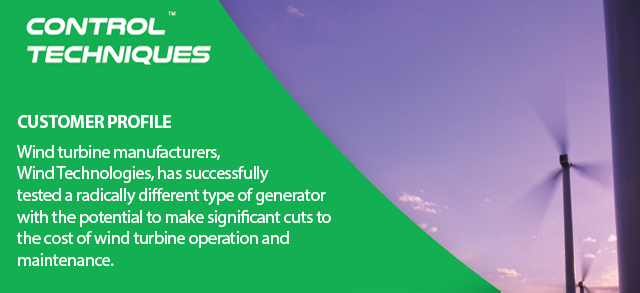 Significant cost cuts of wind turbine operation with brushless doubly-fed generators