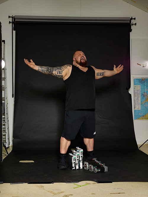Eddie Hall the strongest man on the planet