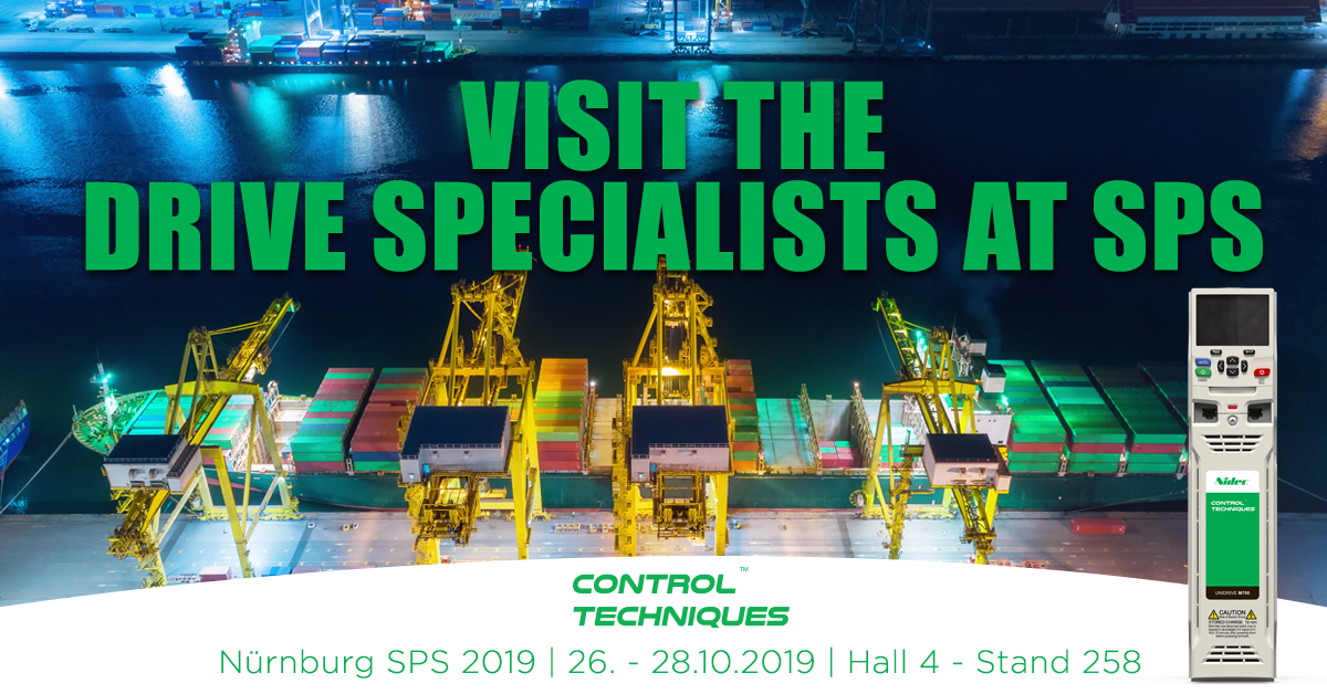 sps-2019-germany-control-techniques