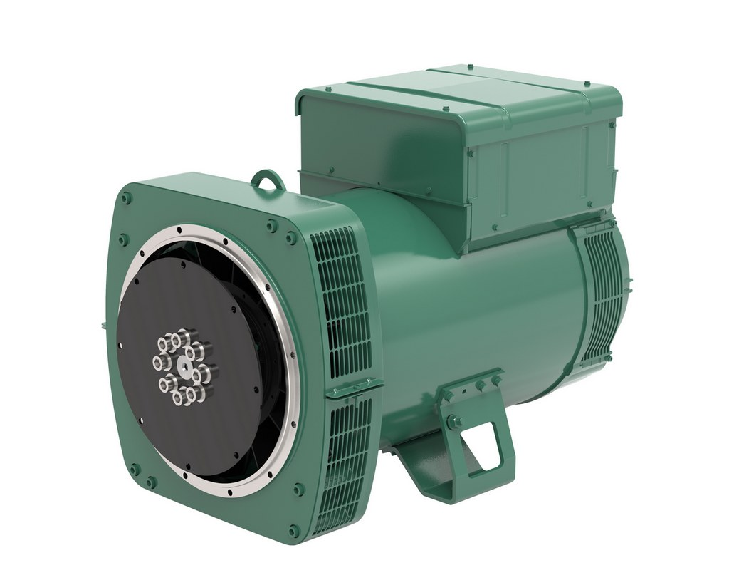 Leroy-Somer LSA 44.3 200kVA industrial alternator