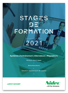 Stages de Formations Leroy-Somer 2021