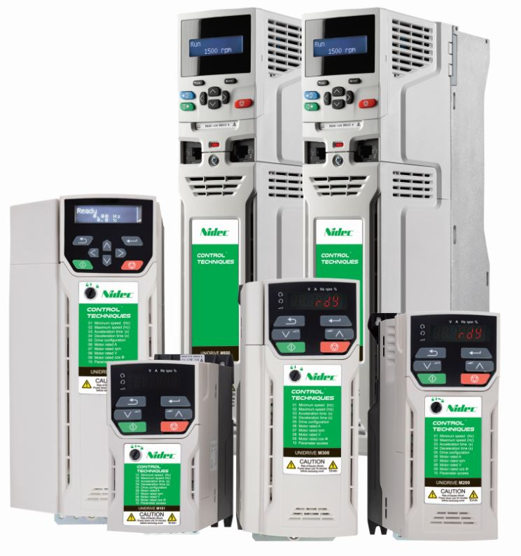 Nidec Motor Drives – Standalone or Fully Integrated Systems