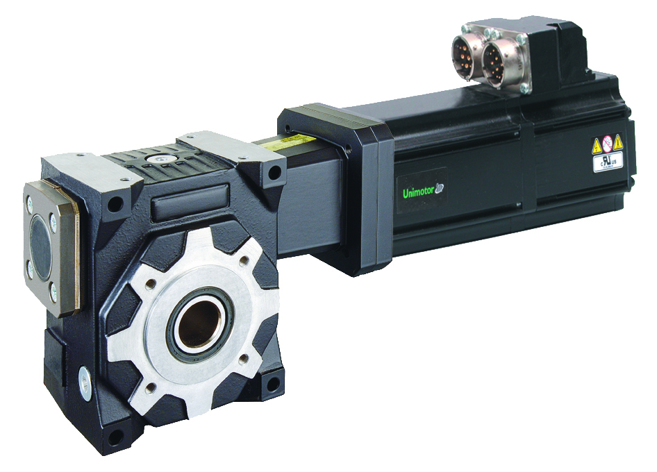 Nidec DC Gear Motors Crank Out High Torque at Low Speed