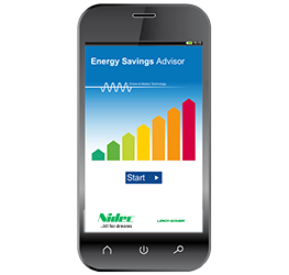Energy saving advisor app