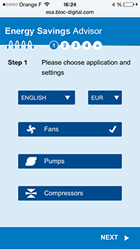 energy savings app