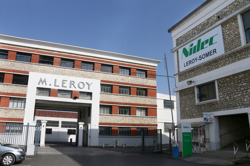 Leroy-Somer headquarters in Angoulême