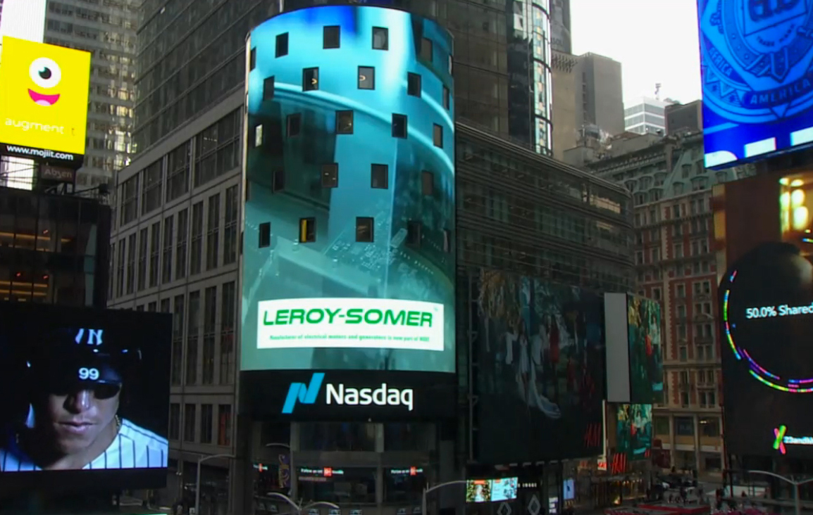 Leroy-Somer on nasdaq tower