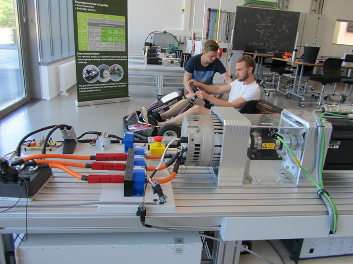Danemark University students leroy somer motors