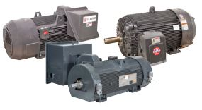TITAN horizontal compressor motors
