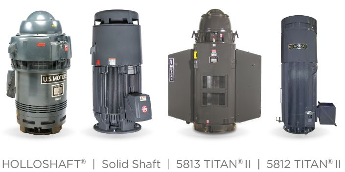 U.S. MOTORS TITAN vertical motors